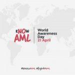 21 апреля — Всемирный  день осведомлённости об остром миелоидном лейкозе